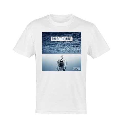 ARCAVES - Out of the Blue White T-Shirt