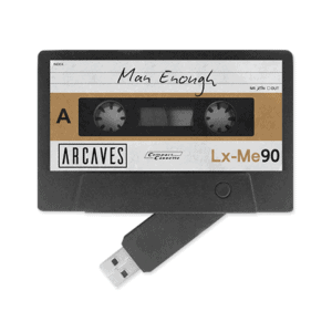 ARCAVES - Man Enough USB Cassette